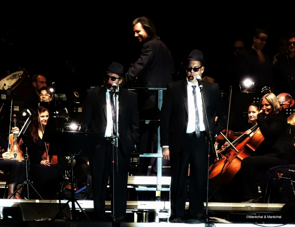 The Blues Brothers live in concert