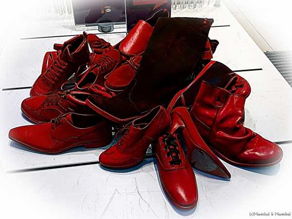 Simply red shoes
