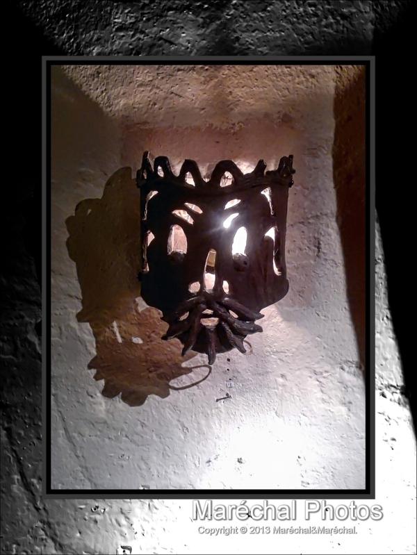 Old Candleholder