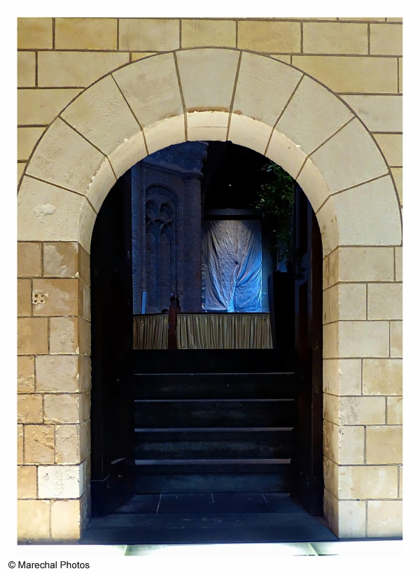 Doorway of an Church