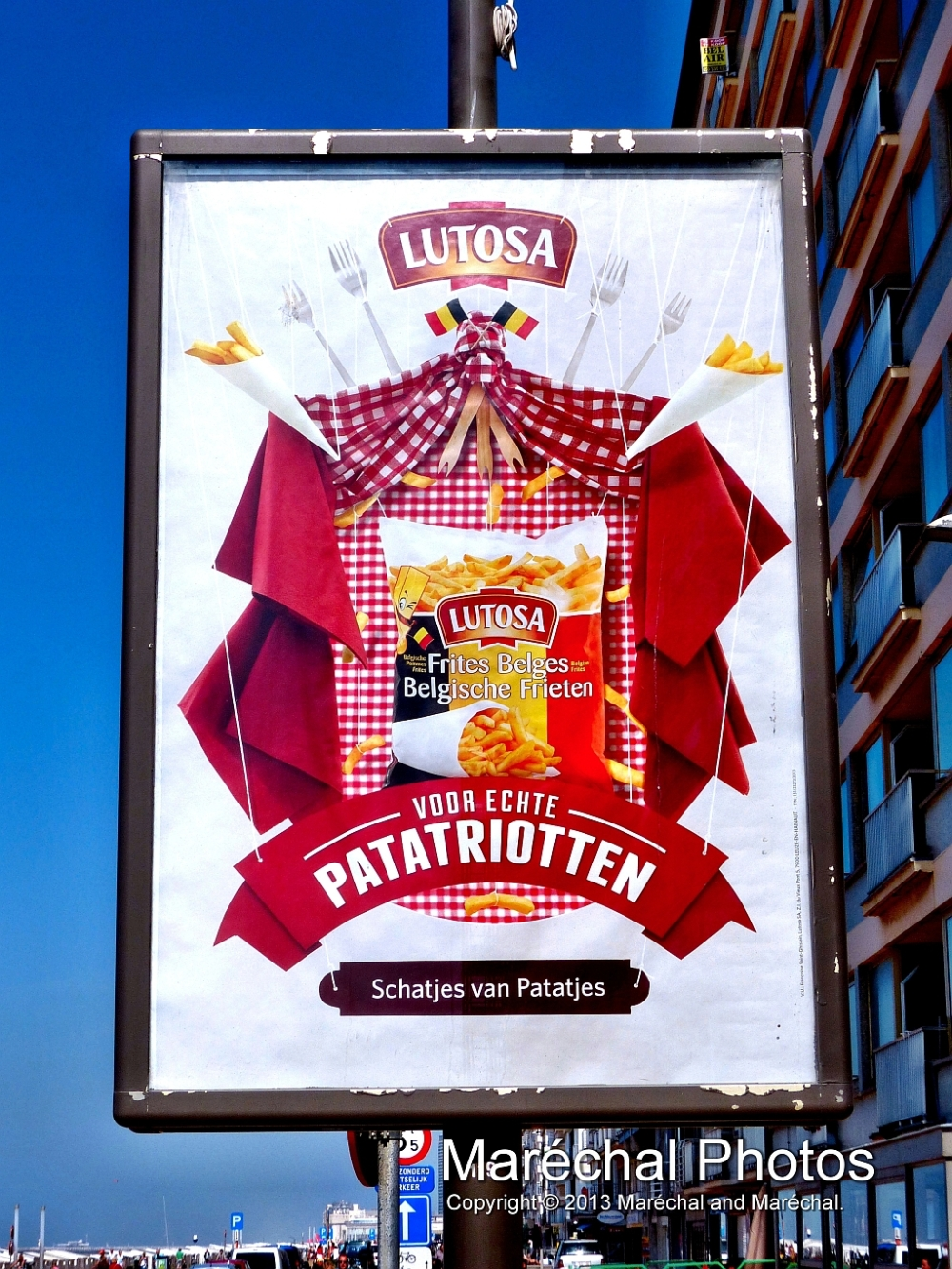 Promotion of French Fries in Belgium