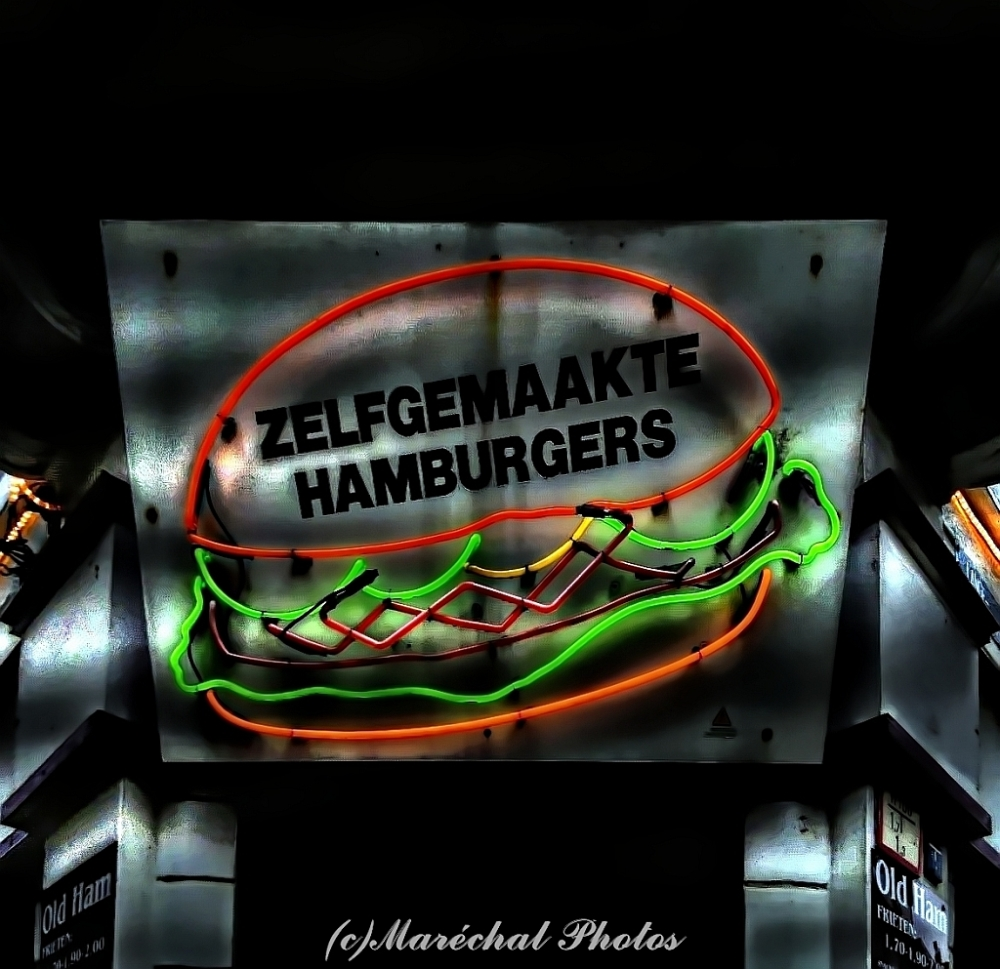 Selfmade Hamburgers