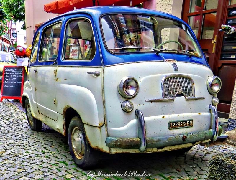 Rusty Fiat Multipla