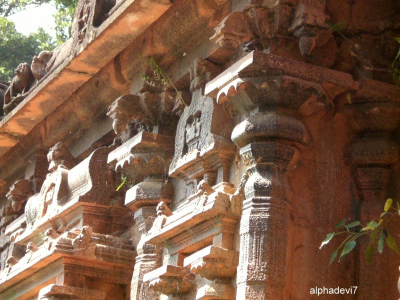 a part of an ancient Temple. South India- Tirunelv