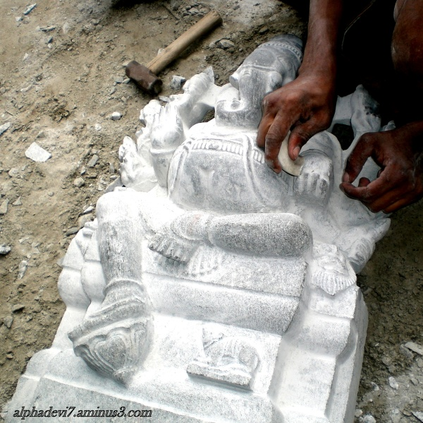 Making of a Temple  11