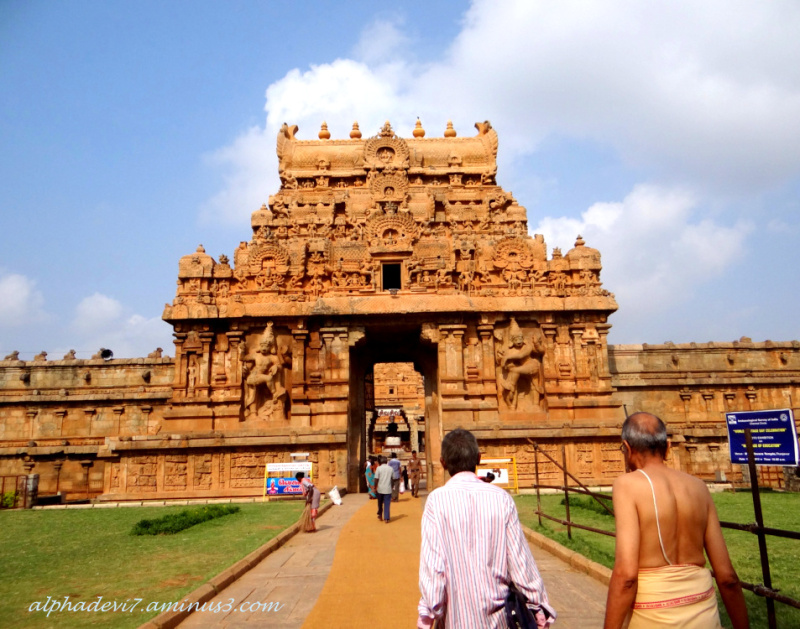 The Big Temple Tanjore  2