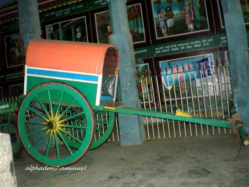 A bullock cart !!