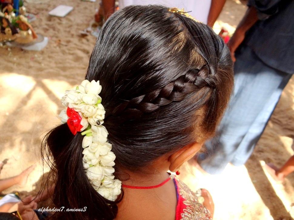 Pretty hairdo