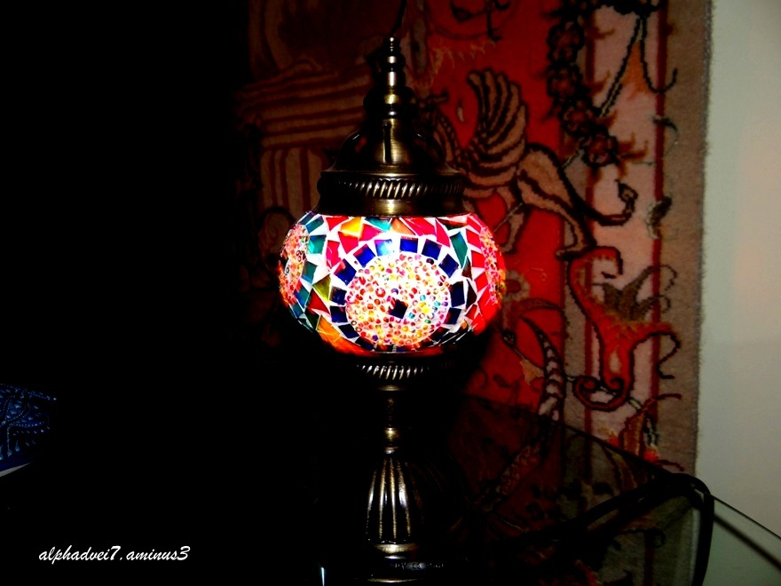 A lamp from Turkey