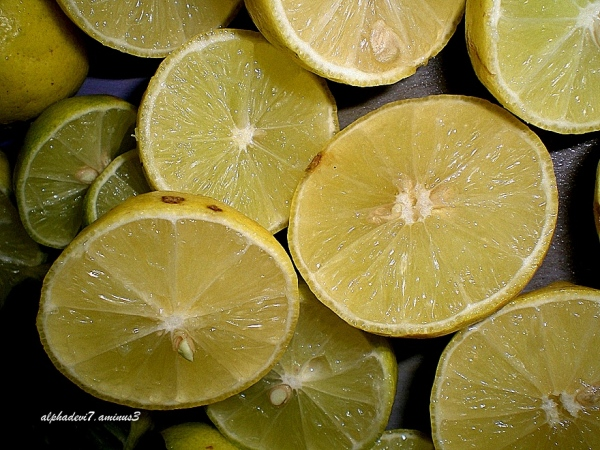 Lime ...juicy at that