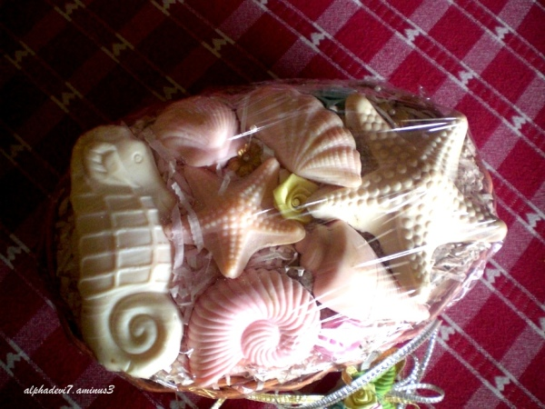 Soap carving..