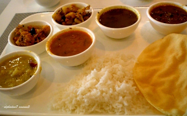 A South Indian Meal