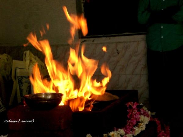 Start of Sacred flames