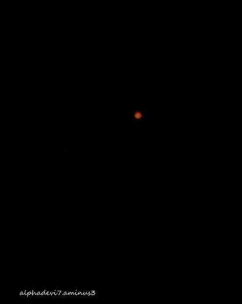 The Orange Moon