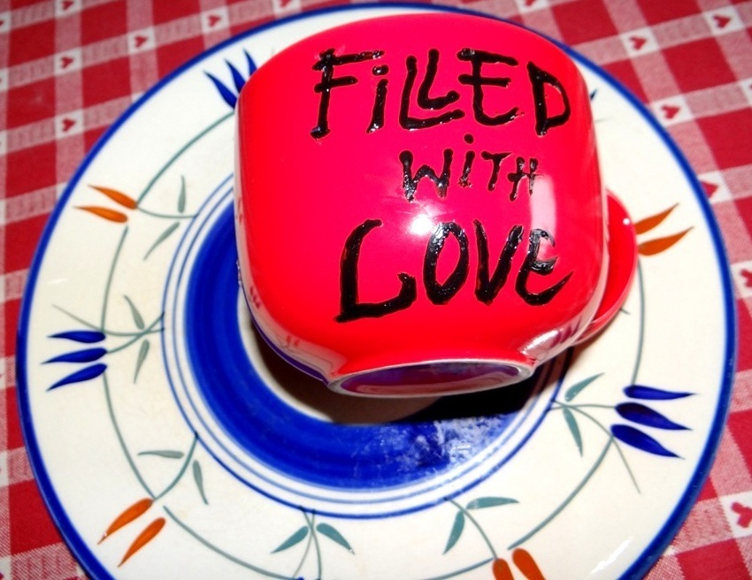 Filled with love....
