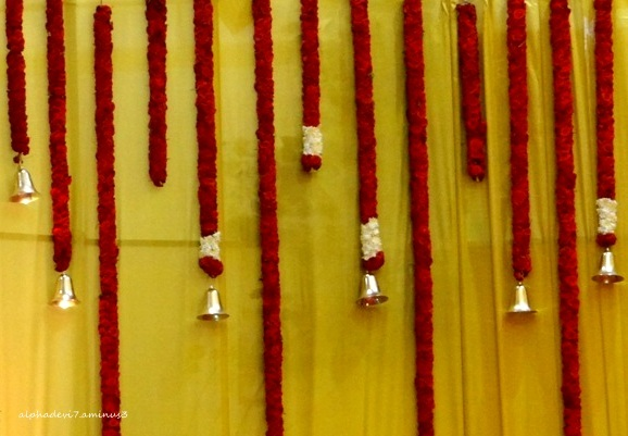 The Hanging garlands