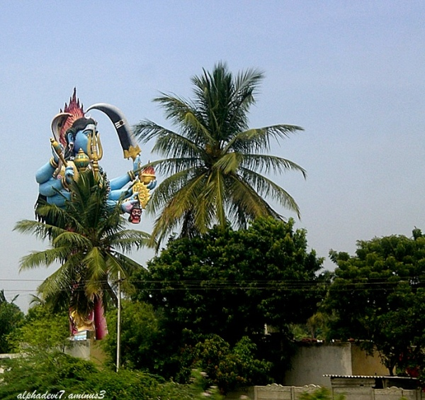 The Towering  Deity...