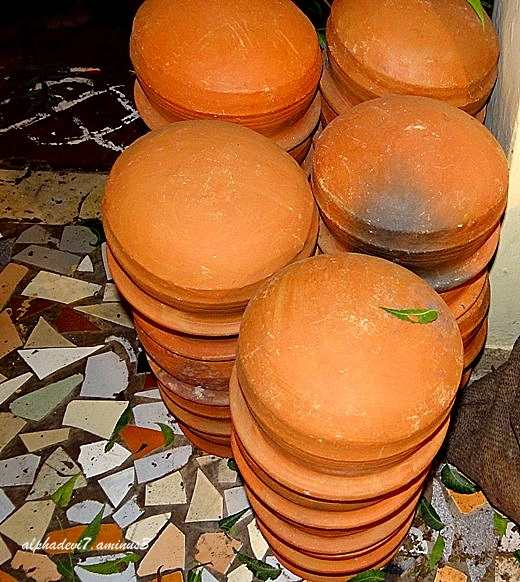 The Piled Pots...........