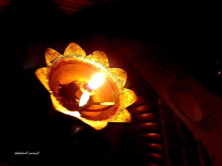 The Pooja Lamp