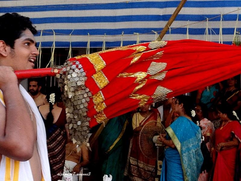 The Ceremonial Umbrella...