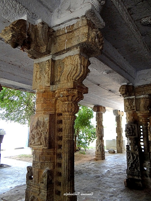 Architecture of an ancient Temple
