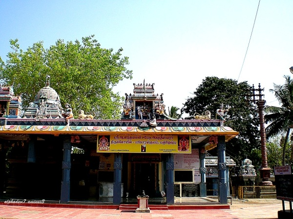 A Temple at Pancheshti..well maintained