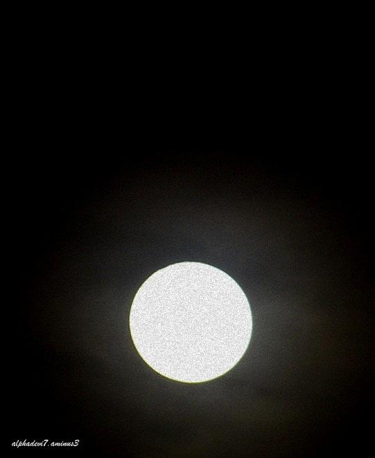 The moon rising  4
