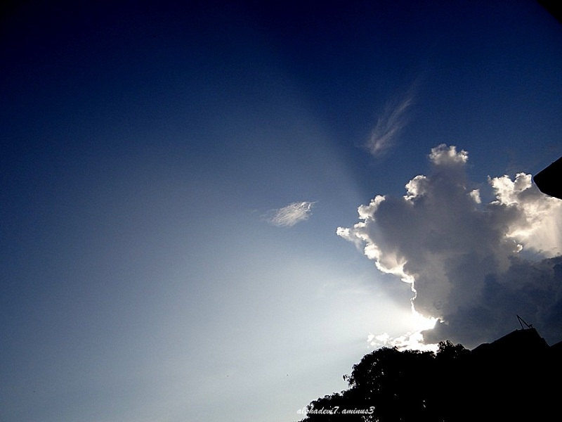 This cloud has a silver lining :))