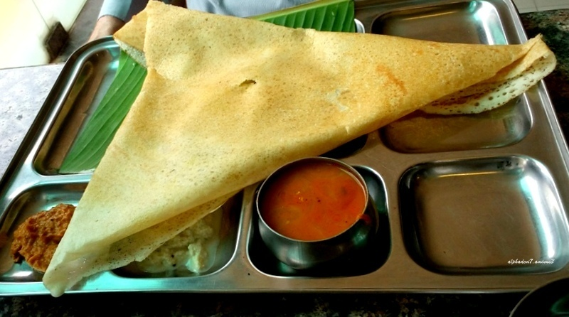 That  Delicious  Stuffed  Dosa...