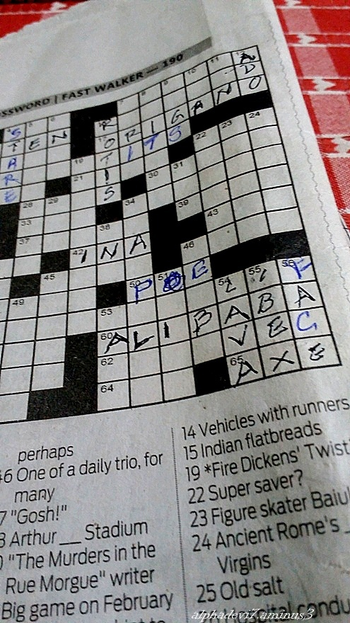 Crossword puzzle :)))