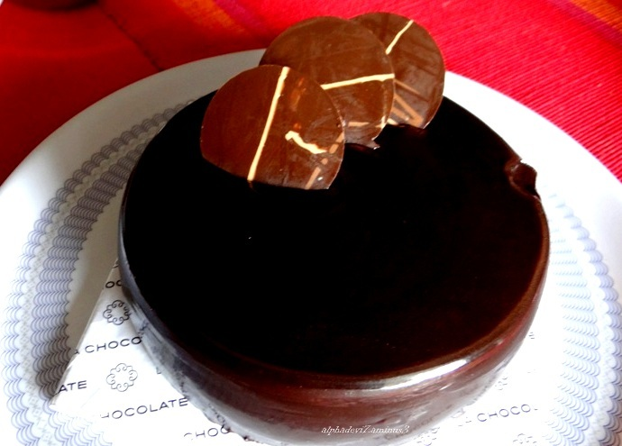 The Chocolate  Cake :)))