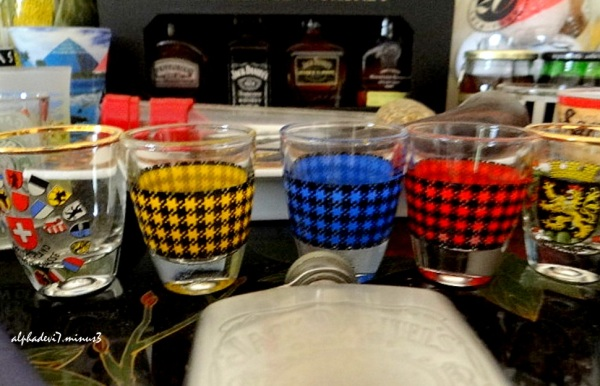 Shot glasses collection again    2