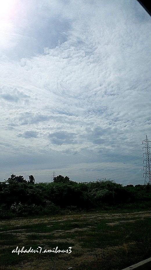 Th sky .....