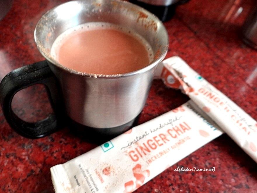 Ginger Tea for  Grouser:)))