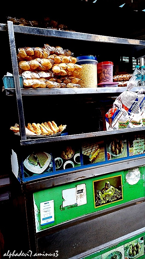 Roadside  buns and other items.