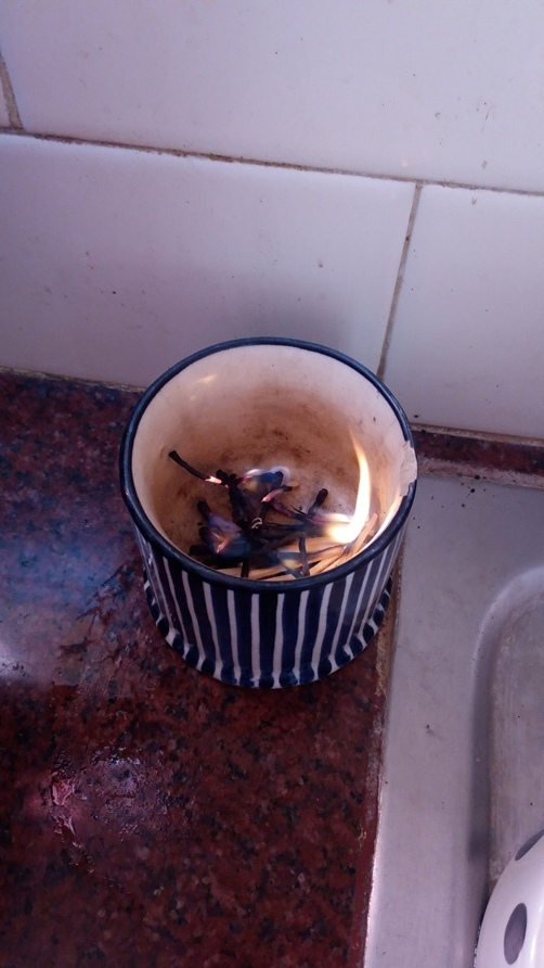 Flame  in  a  Tea Cup :)))
