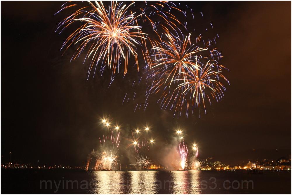Fireworks at LaCroisette 2012 summer