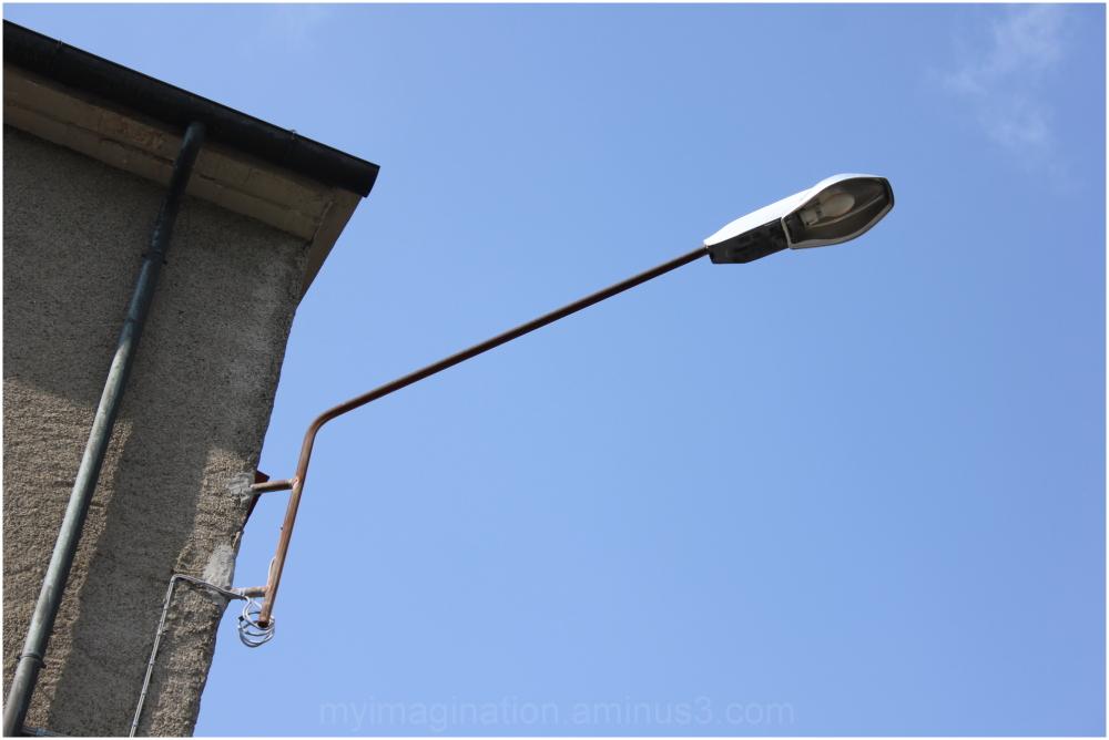 An old  street Lamp