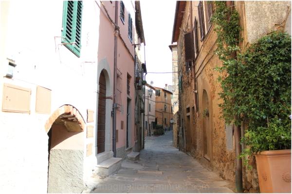 A peaceful narrow lane