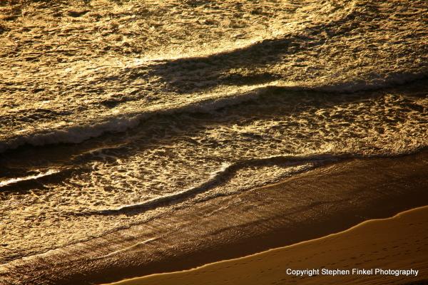 Waves at Sunrise