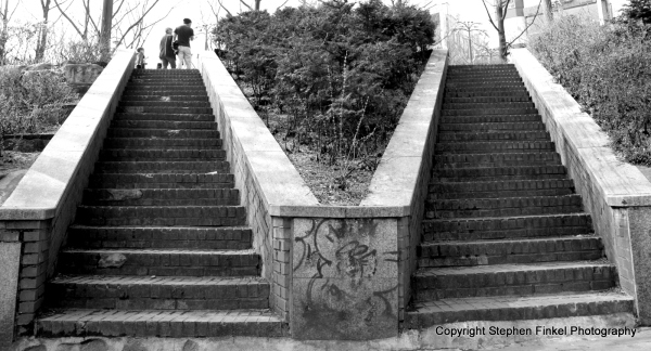 V Stairs