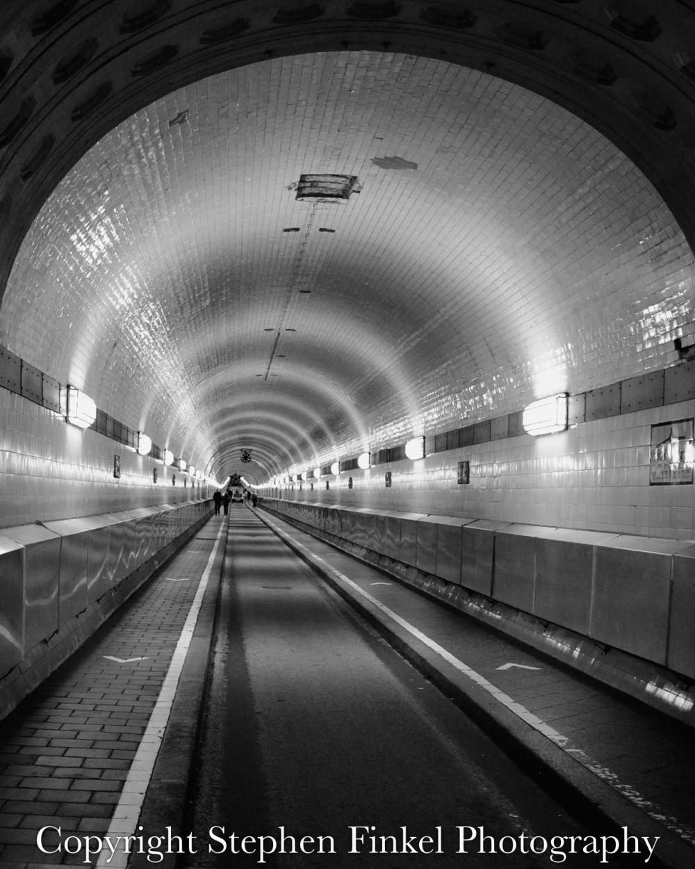 Elbe Tunnel Hamburg