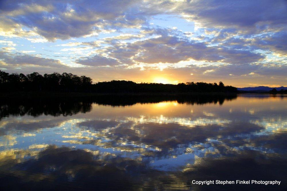 Lake Samsonvale Sunset