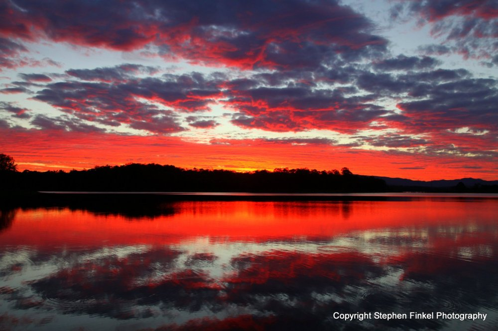Firey Sunset North Pine