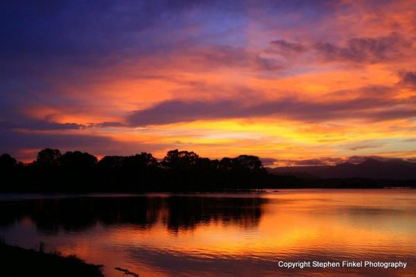 Colourful Sunset at Samsonvale