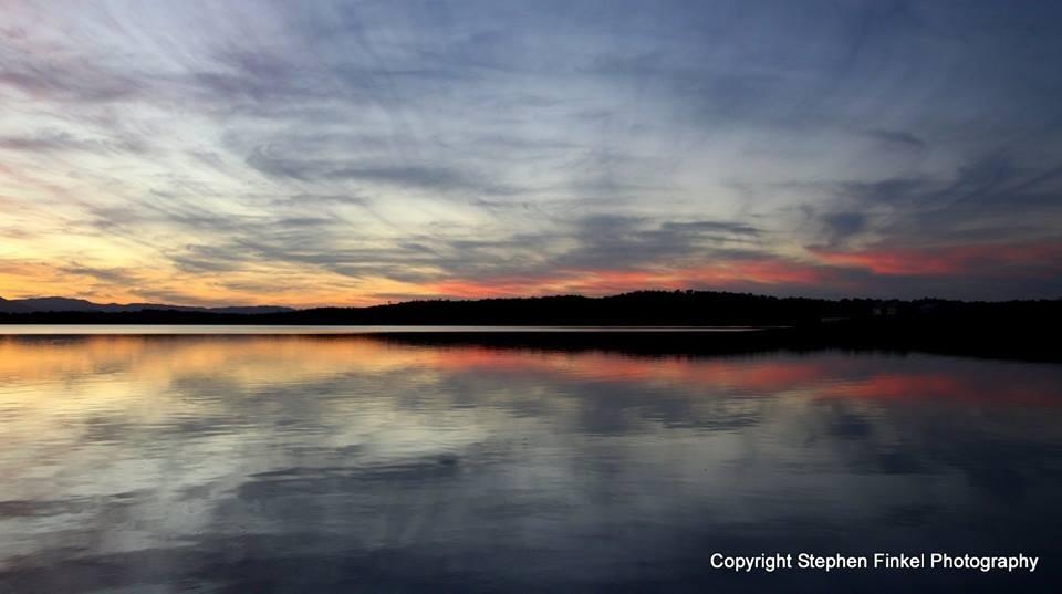 Soft Sunset at the Lake
