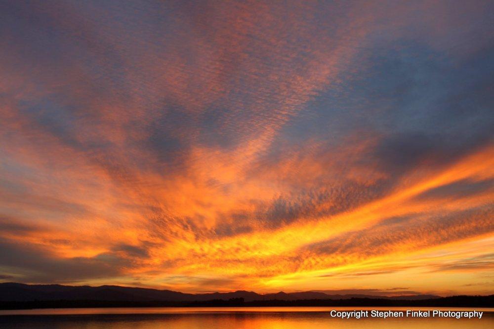 An Australian Firey Sunset