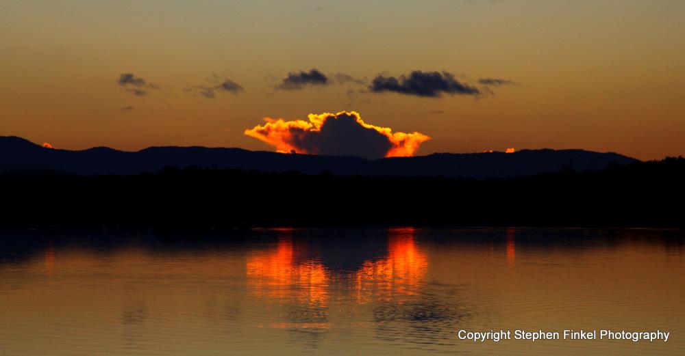Flaming Cloud Sunset