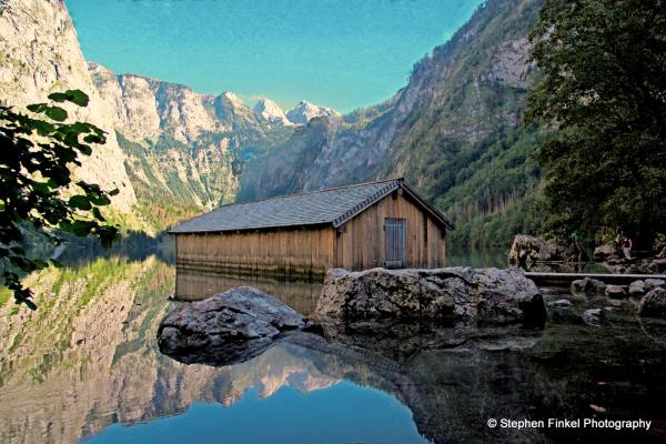 Boathouse on the Lake