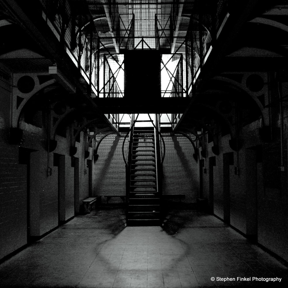 Ivside the Cell Block